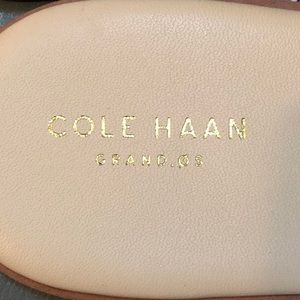 Cole Haan Shoes - Cole Haan Anica Leather Slide Sandal